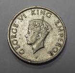 1/4 рупии, 1947 г Индия, фото №3