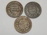 3 монеты по 1/4 анна, Британская Индия, 1858 г., фото №2