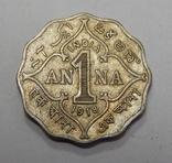 1 анна, 1918 г Индия, фото №2