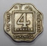 4 анна, 1919 г Индия, фото №2