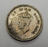 1/4 рупии, 1944 г Индия, фото №3
