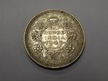 1/2 рупии, 1945 г Индия, фото №2