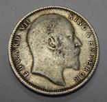 1 рупия, 1904 г Индия, фото №3