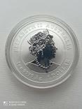 1-а в серії Lunar III Рік Миші 2020 1 унція срібла Австралія, фото №3