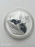 1-а в серії Lunar III Рік Миші 2020 1 унція срібла Австралія, фото №4