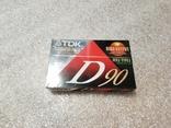 Аудио касета TDK 90 США, фото №2