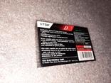 Аудио касета TDK 90 США, фото №3