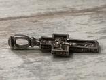 Крест серебряный, фото №5