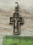 Крест серебряный, фото №8