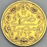 100 пиастров. Османский Египет. Abdul Hamid II 1293/12 AH  1876. (вес 8,49 г), фото №2