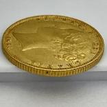 1 фунт (соверен). 1851. Великобритания (золото 917, вес 7,96 г), фото №12