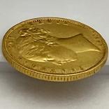 1 фунт (соверен). 1851. Великобритания (золото 917, вес 7,96 г), фото №13