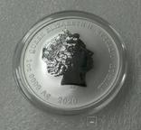 Королевская удача 1 доллар 2020 Серебро 1oz 999,9, фото №4