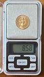 Один Червонец Сеятель. 1977. ЛМД. РСФСР (золото 900, вес 8,58 г), фото №12