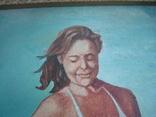 Картина ню П.Ф.Максименко 1991г 49,5/24,5см., фото №7