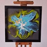 Картина живопис абстракція Fluid Art #26 acrylic, фото №3