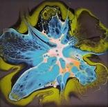 Картина живопис абстракція Fluid Art #26 acrylic, фото №8