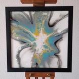 Картина живопис абстракція Fluid Art #27 acrylic, фото №2