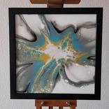 Картина живопис абстракція Fluid Art #27 acrylic, фото №3