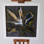 Картина живопис абстракція Fluid Art #28 acrylic, фото №2