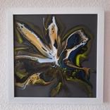 Картина живопис абстракція Fluid Art #28 acrylic, фото №4