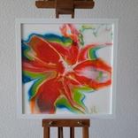 Картина живопис абстракція Fluid Art #29 acrylic, фото №3