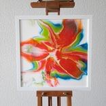 Картина живопис абстракція Fluid Art #29 acrylic, фото №5