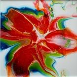 Картина живопис абстракція Fluid Art #29 acrylic, фото №8