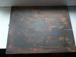 Икона Три Святых. 31 см х 38 см., фото №6