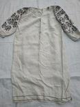 Сорочка вышиванка Миргородская конопляная полотняная старинная женская рубаха., фото №3