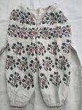 Сорочка вышиванка Миргородская конопляная полотняная старинная женская рубаха., фото №2