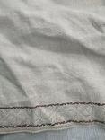 Сорочка вышиванка Миргородская конопляная полотняная старинная женская рубаха., фото №4