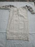 Сорочка вышиванка Миргородская конопляная полотняная старинная женская рубаха., фото №7
