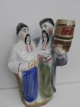 Фарфоровая штоф статуэтка. Кумы. Полонне., фото №2