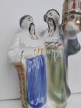 Фарфоровая штоф статуэтка. Кумы. Полонне., фото №3