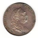 Талер 1766 р, Гессен, фото №2