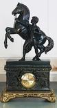 Часы интерьерные Спартанец с конем, фото №8