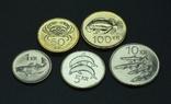 Исландия, набор монет 2000-х годов, 5с, фото №2