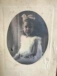 Девочка с бантом Цветы, фото №2