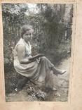 1934 Девушка в платье Туфли Сирень, фото №8