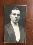 1927 Курск Представительный Мужчина с бабочкой, фото №3