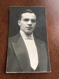 1927 Курск Представительный Мужчина с бабочкой, фото №2