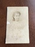1897 Фото Лежнева 19 век Девушка, фото №2