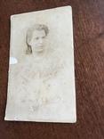 1897 Фото Лежнева 19 век Девушка, фото №3