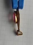 Кулон с камнем золото 585 СССР (звезда), фото №12