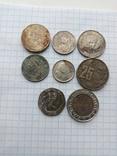 Монеты разные стран Европы, фото №2
