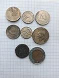 Монеты разные стран Европы, фото №5