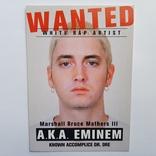 Открытка рэпер Eminem., фото №2