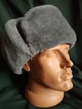 Солдатская шапка ушанка 1987 год, фото №6