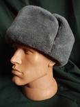 Солдатская шапка ушанка 1987 год, фото №7